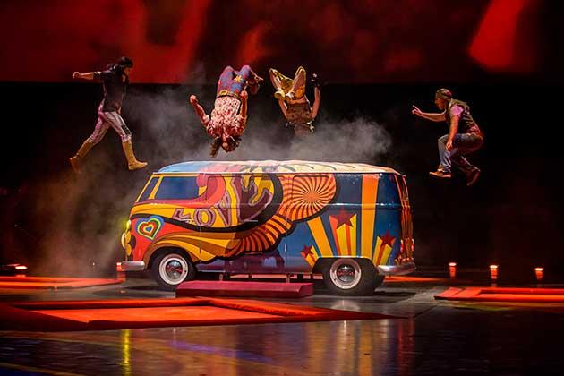 Cirque do Soleil em Las Vegas The Beatles Love