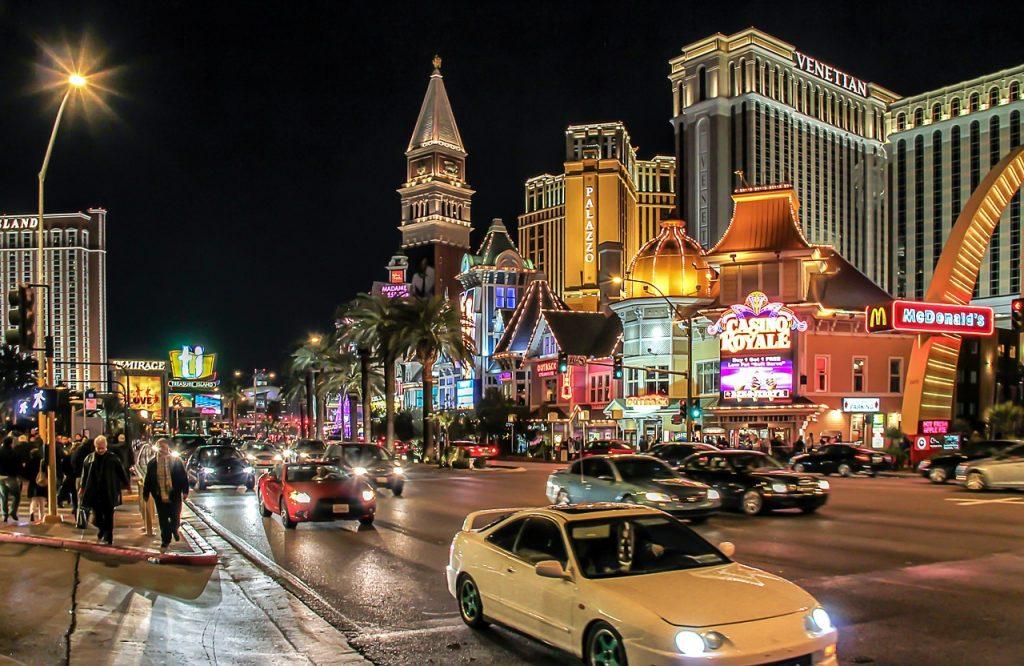Melhor forma de transporte em Las Vegas