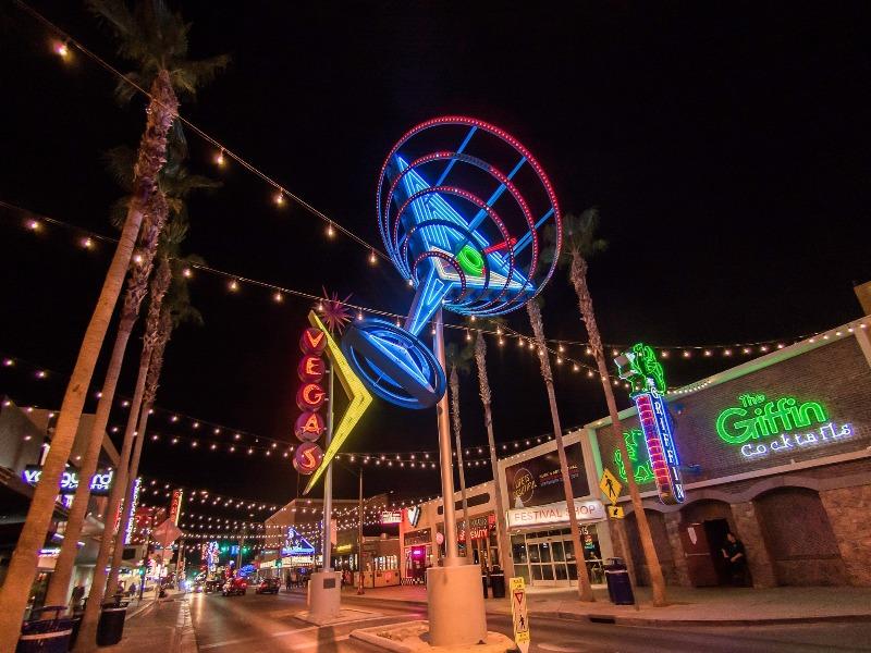 Fremont Street Las Vegas o que fazer