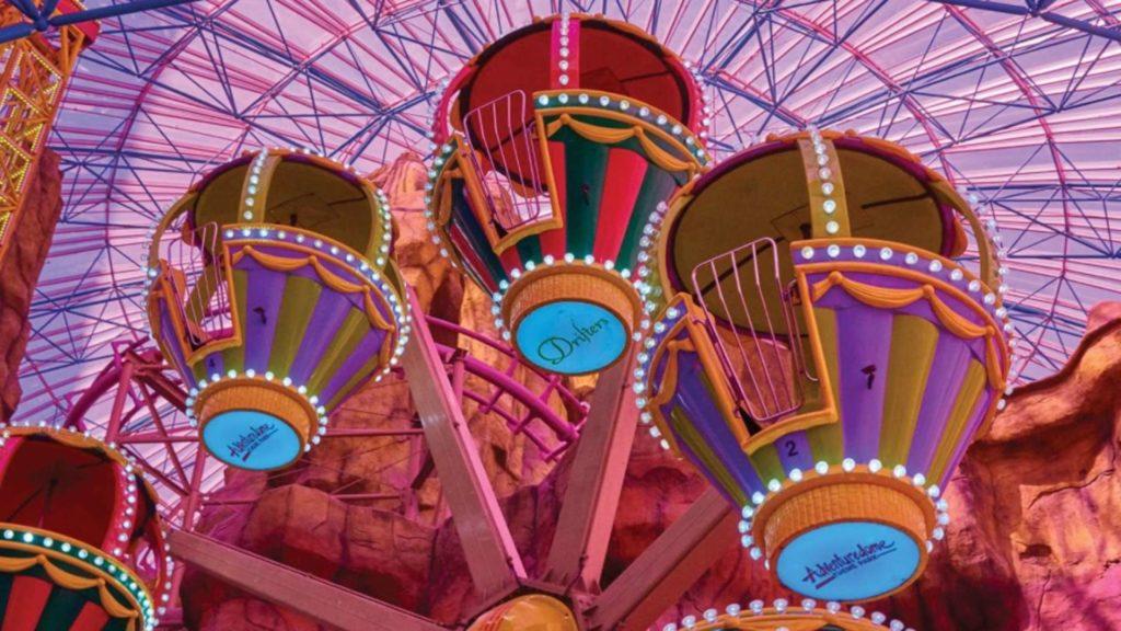Parque de diversões em Las Vegas