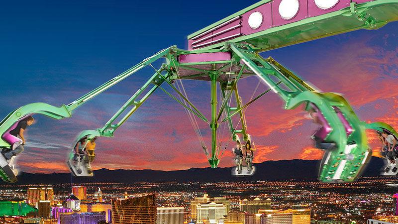 Atrações radicais em Las Vegas