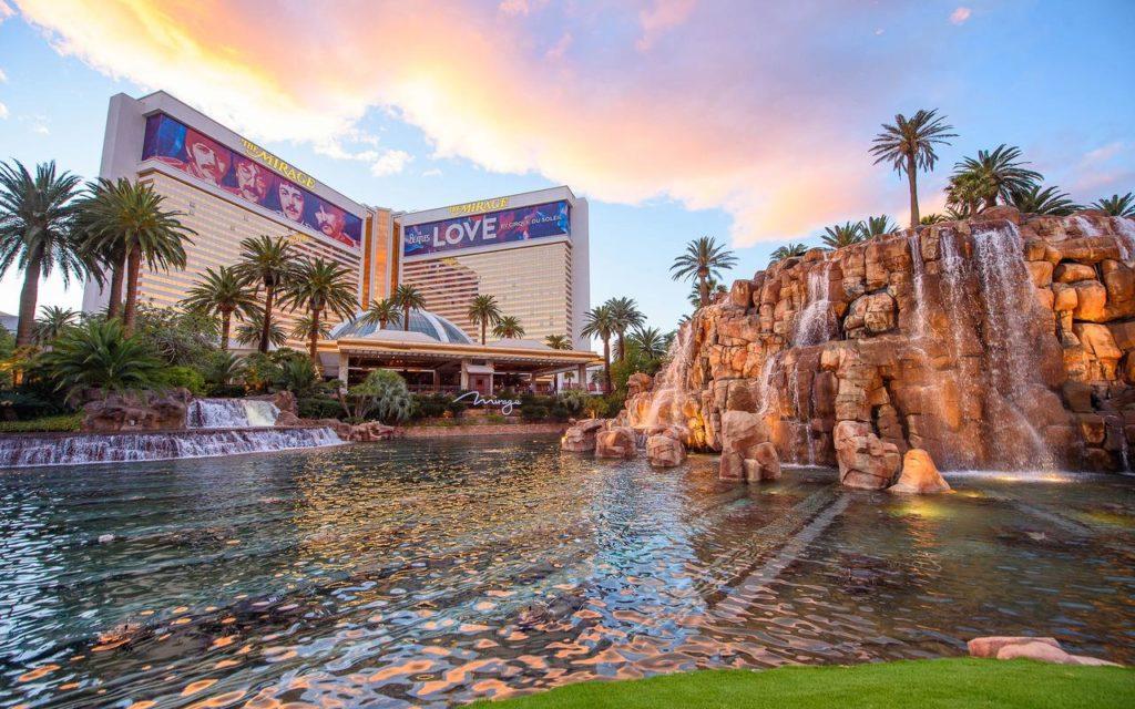 Hotel com espetáculo em Las Vegas