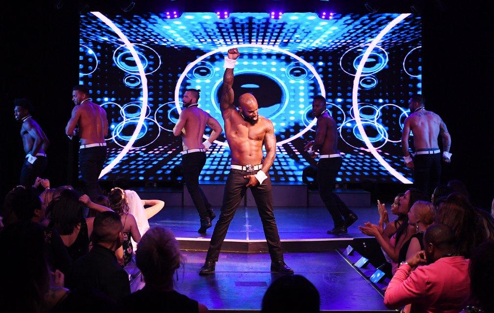 Show de strip masculino em Las Vegas