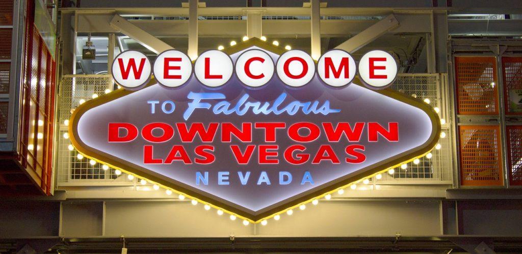 Onde fica a placa Welcome to Fabulous Las Vegas