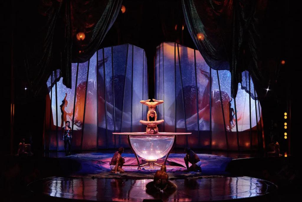 Shows adultos do Cirque du Soleil, em Las Vegas
