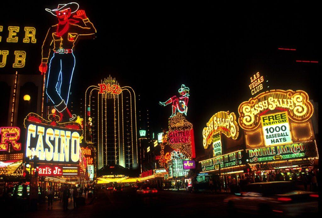 Downtown Las Vegas à noite